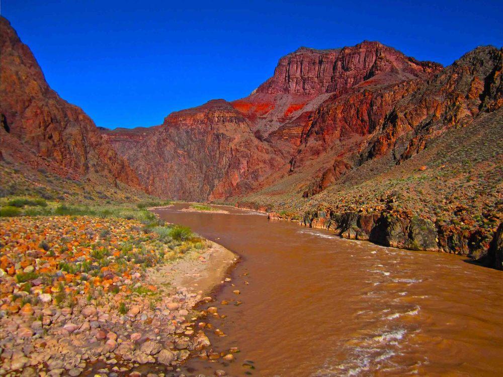 Colorado River, Grand Canyon, April 2012