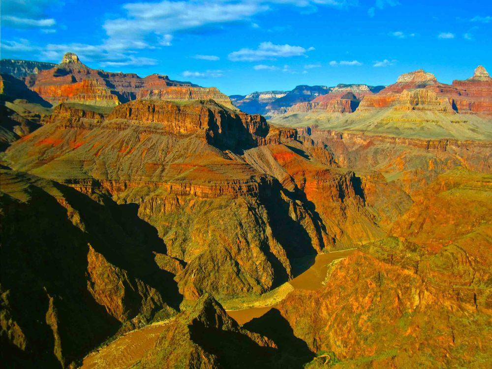 Plateau Point, Grand Canyon, April 2012