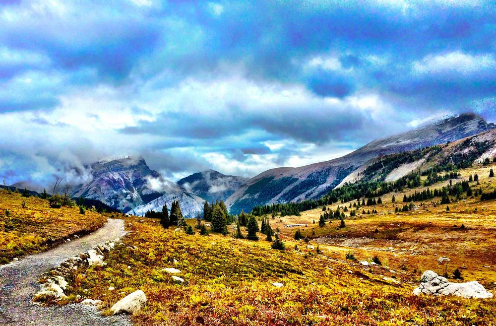Sunshine Meadows, Alberta, Canada, September 2015