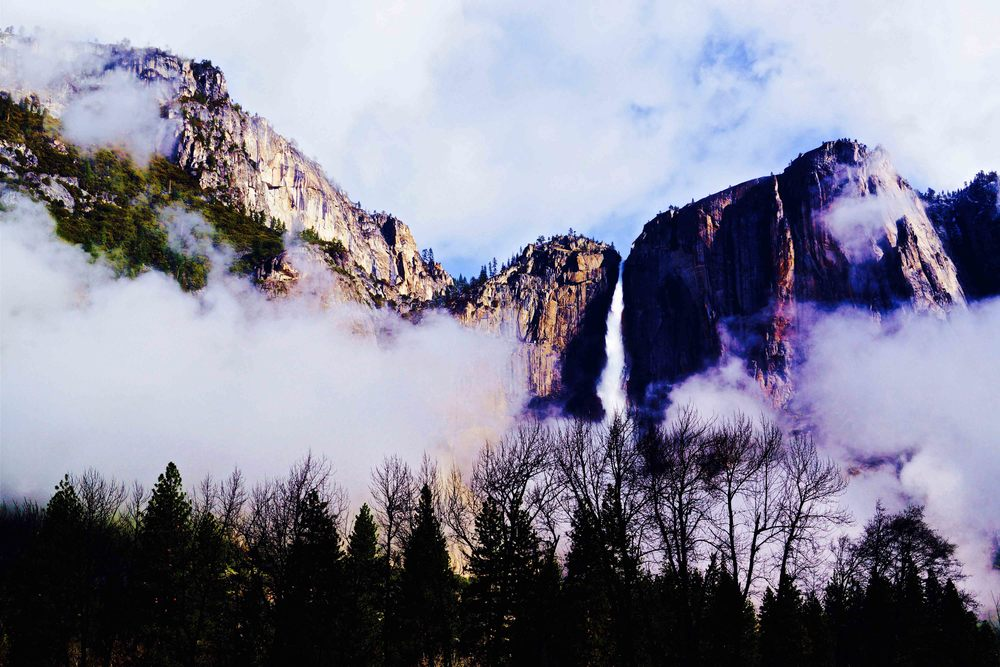Yosemite Falls, California, April 2013