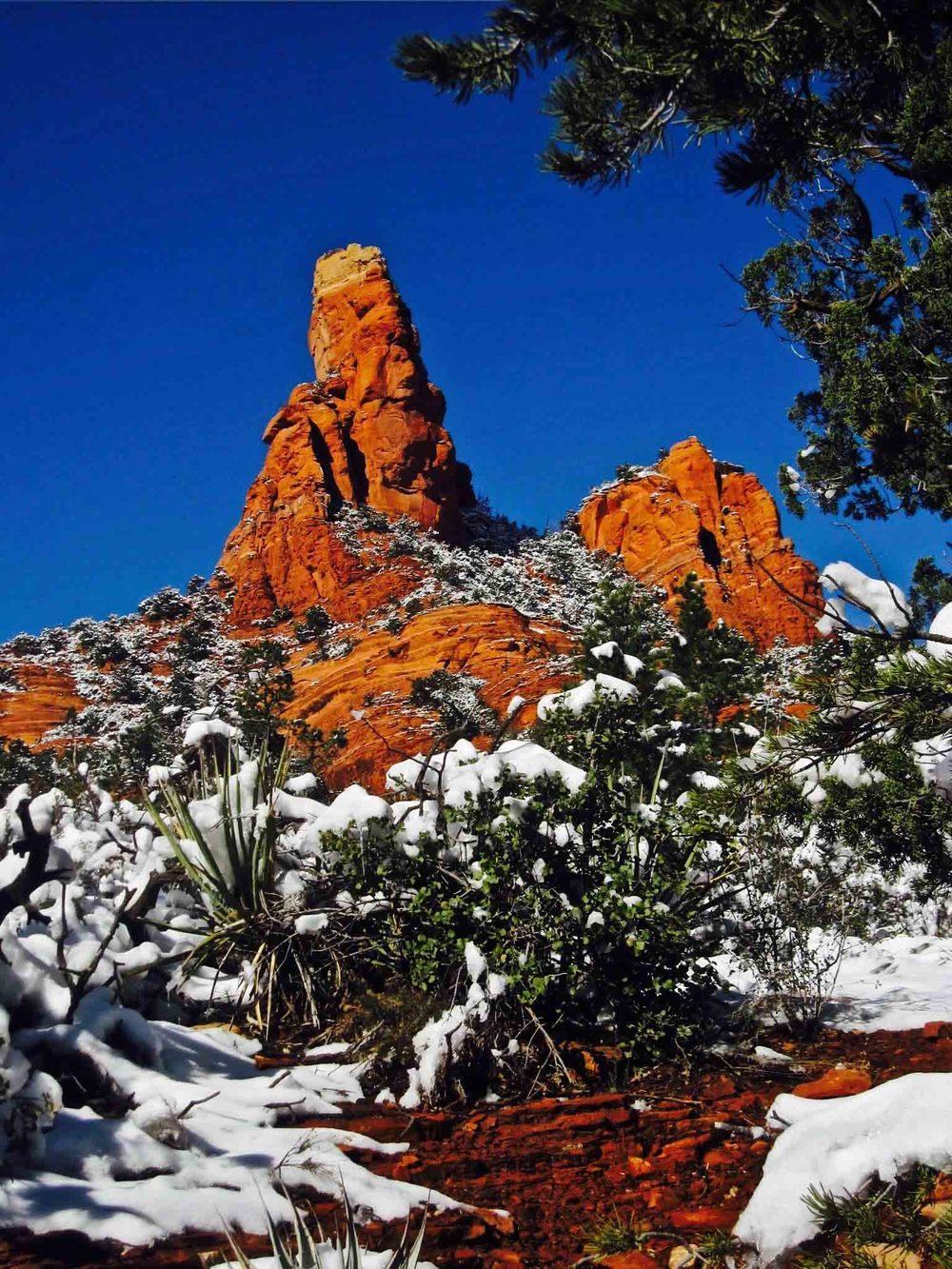 Soldiers' Pass, Sedona, Arizona, January 2011