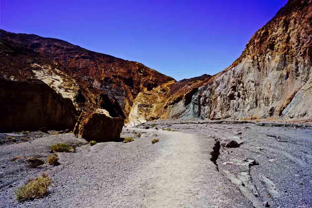 Mosaic Canyon, Death Valley National Park, California, April 2015