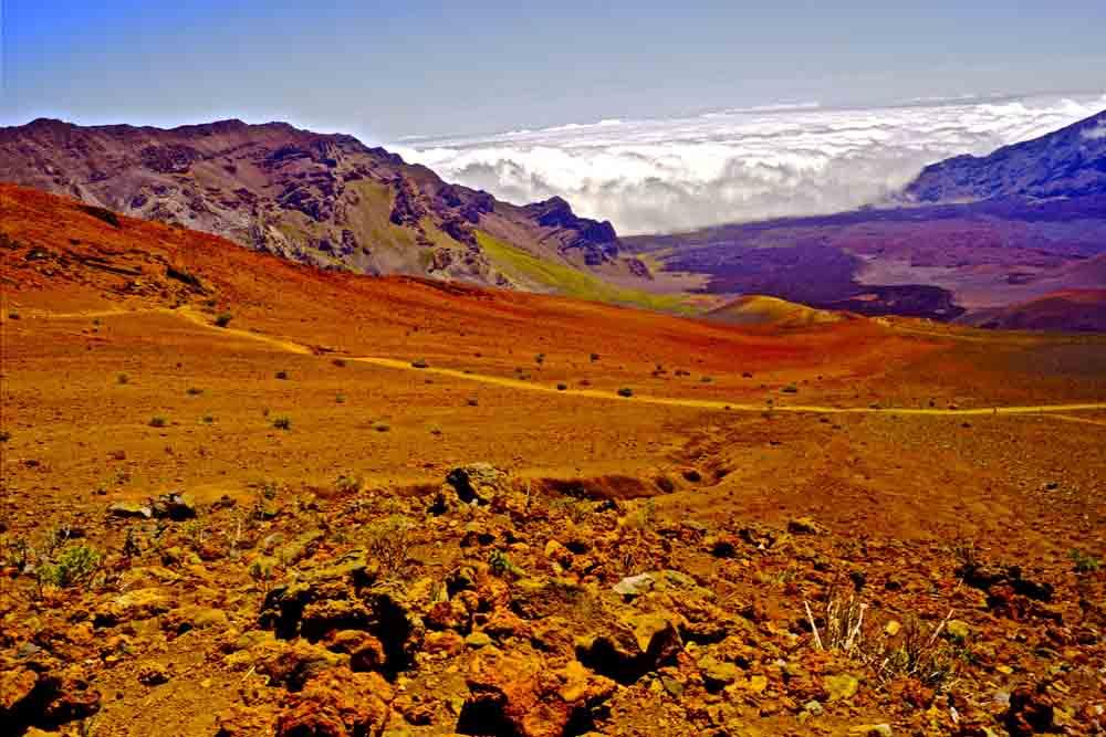 Sliding Sands, Haleakala, Maui, July 2012