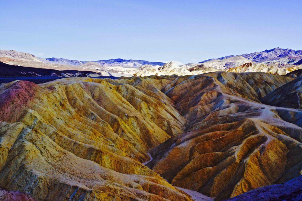 Zabriskie Point, Death Valley National Park, April 2015
