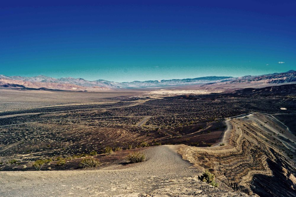 Ubehebe Crater, Death Valley National Park, April 2015