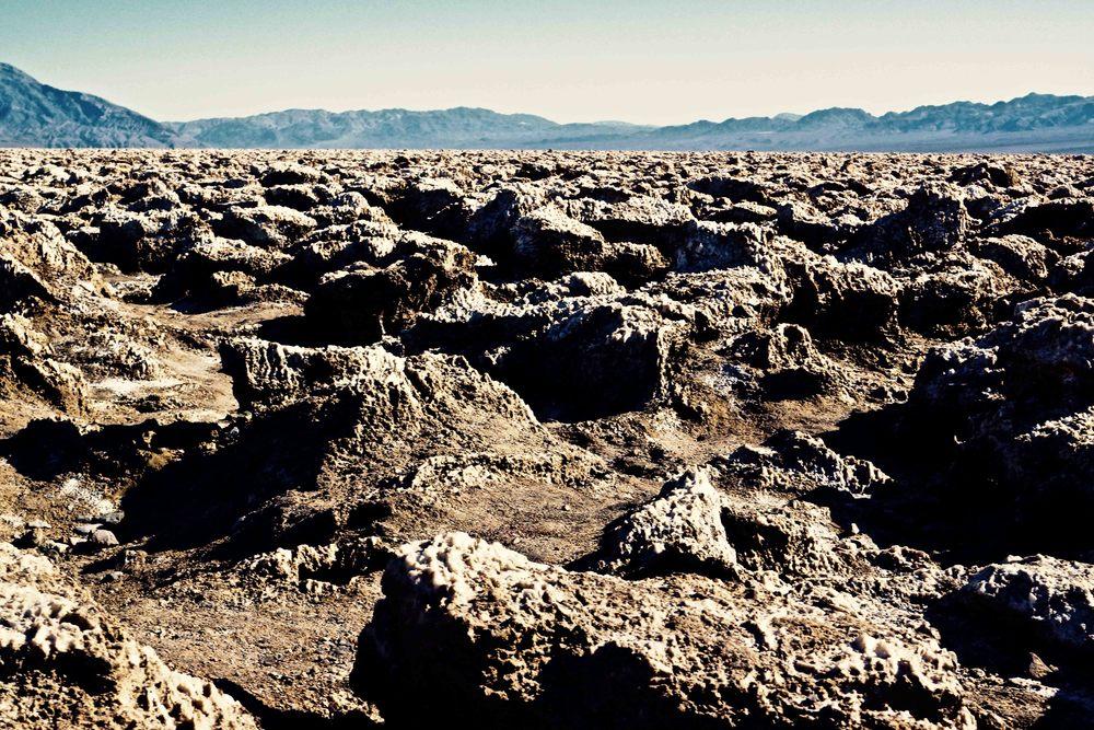 Devil's Corn Maze, Death Valley National Park, April 2015