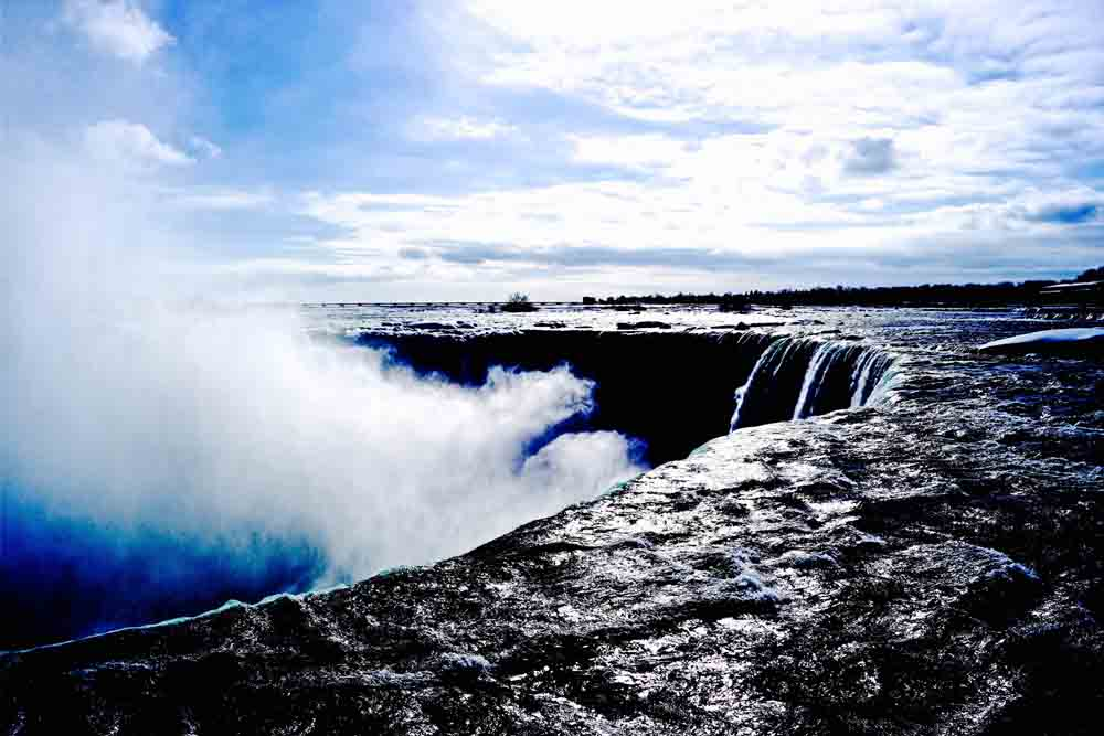 Niagara Falls, Canada, March 2014