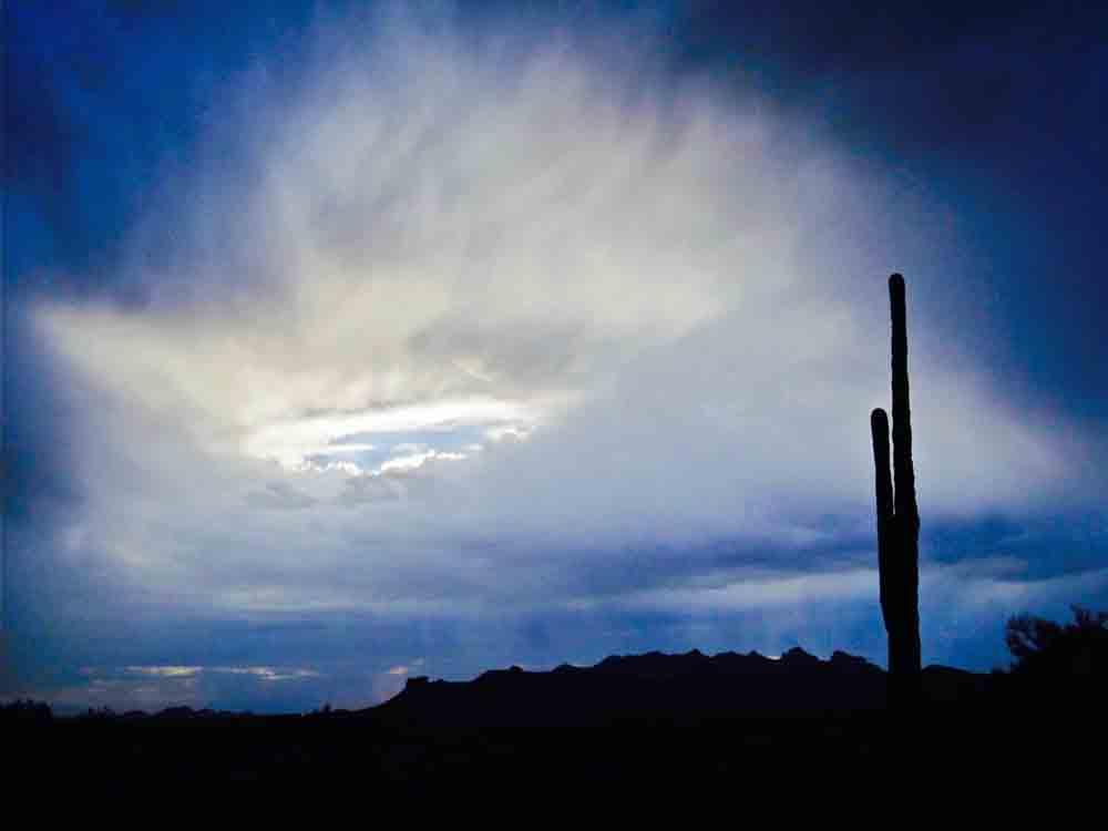 Superstition Mountains, Arizona, April 2011