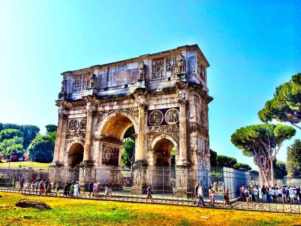 Roman Forum, Italy, July 2015