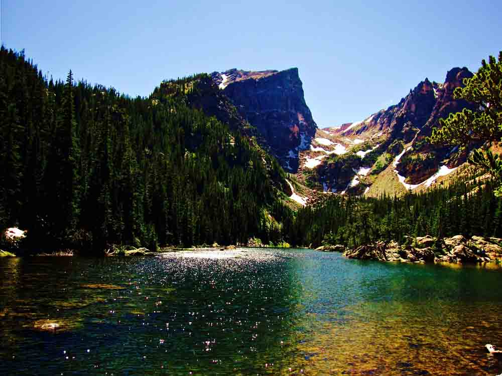 Dream Lake, Colorado, July 2010