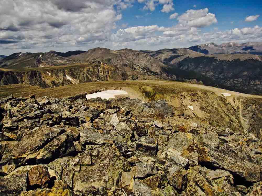 Buffalo Mountain summit, Colorado, August 2010