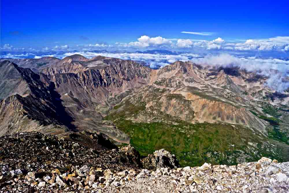 Mt. Democrat summit, Colorado, August 2012
