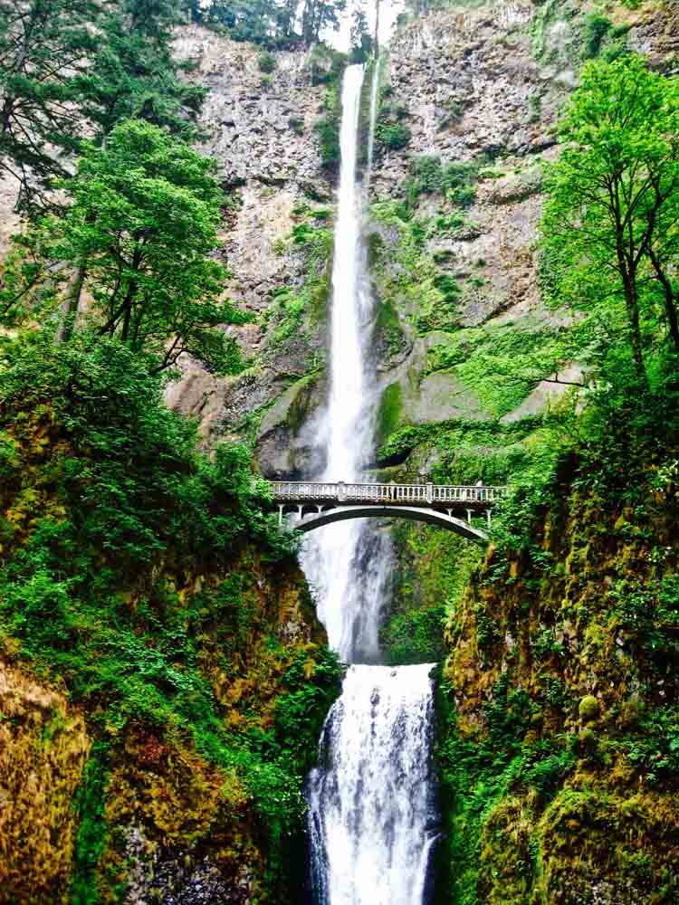 Multnomah Falls, Oregon, July 2008