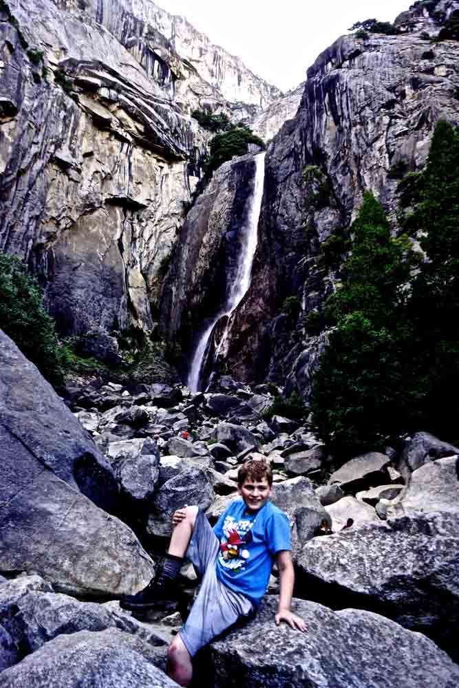 Bridal Veil Falls, Yosemite, June 2014
