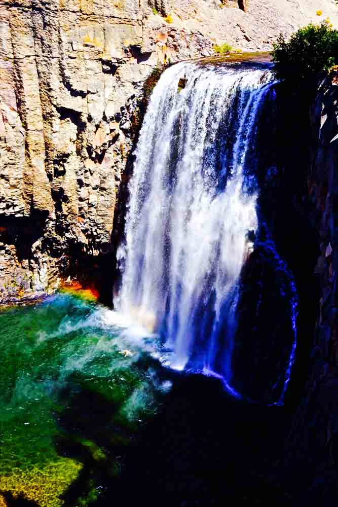 Rainbow Falls, California, June 2014