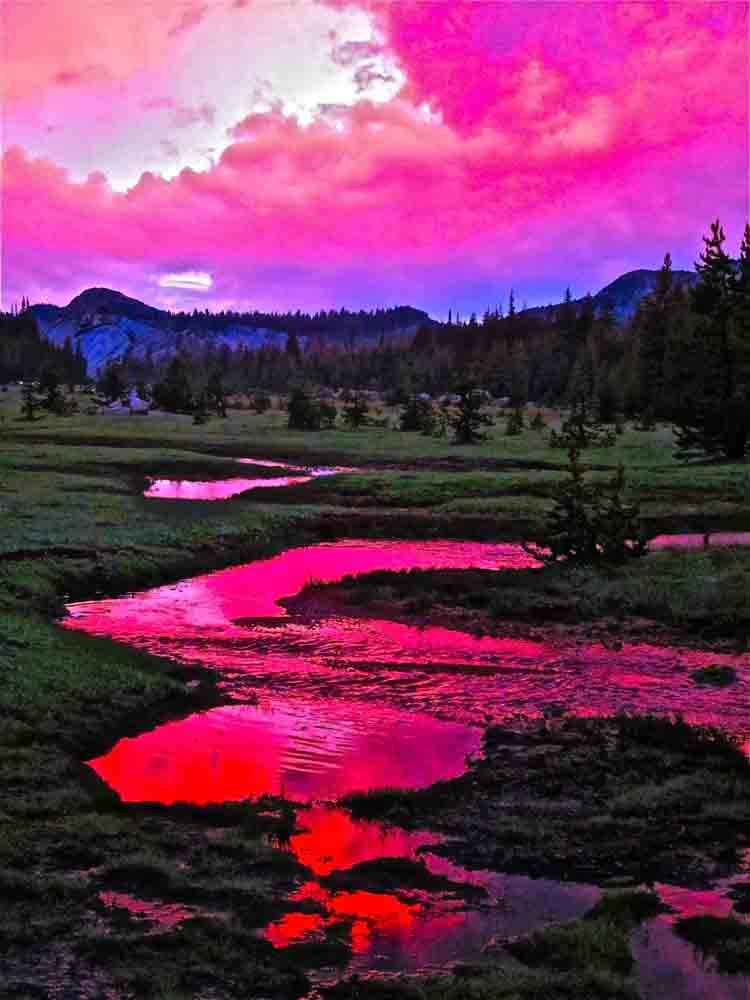 Vogelsang, Yosemite, August 2011