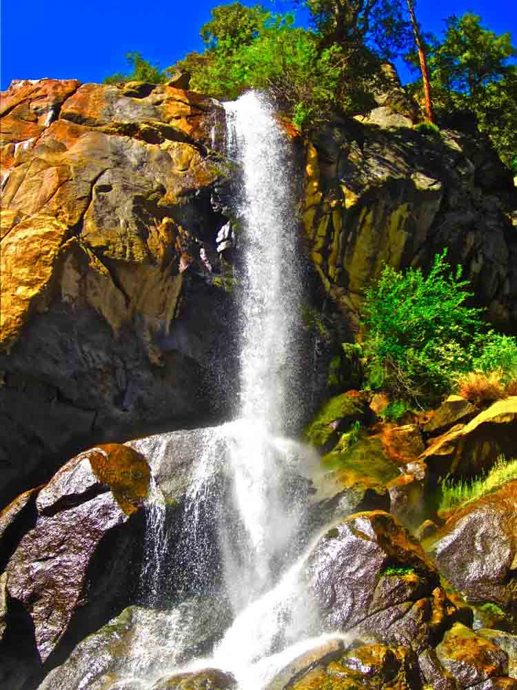 Grizzly Falls, King's Canyon, California, August 2011