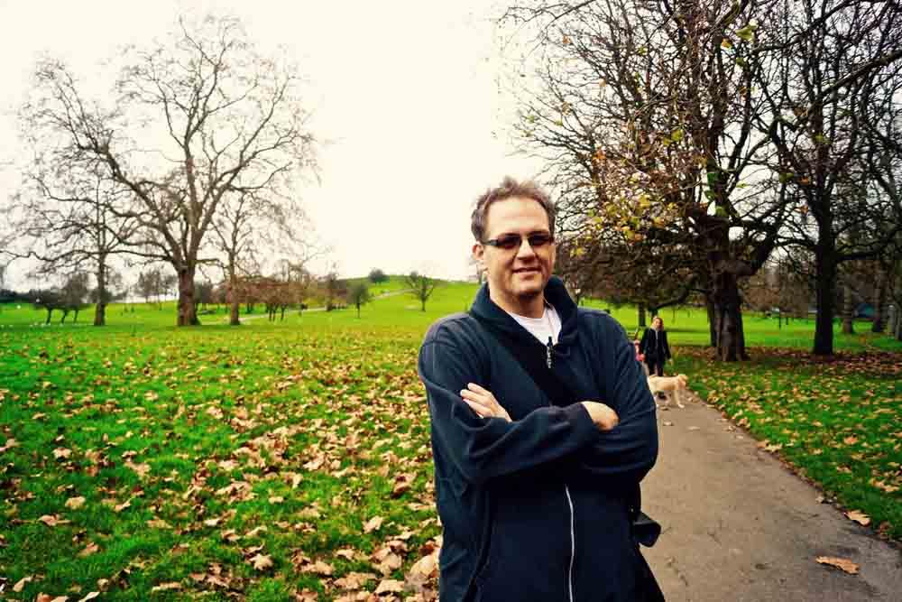 Primrose Hill, London, December 2014