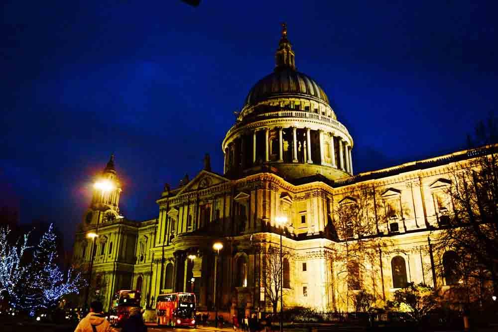 St. Paul's, London, December 2014