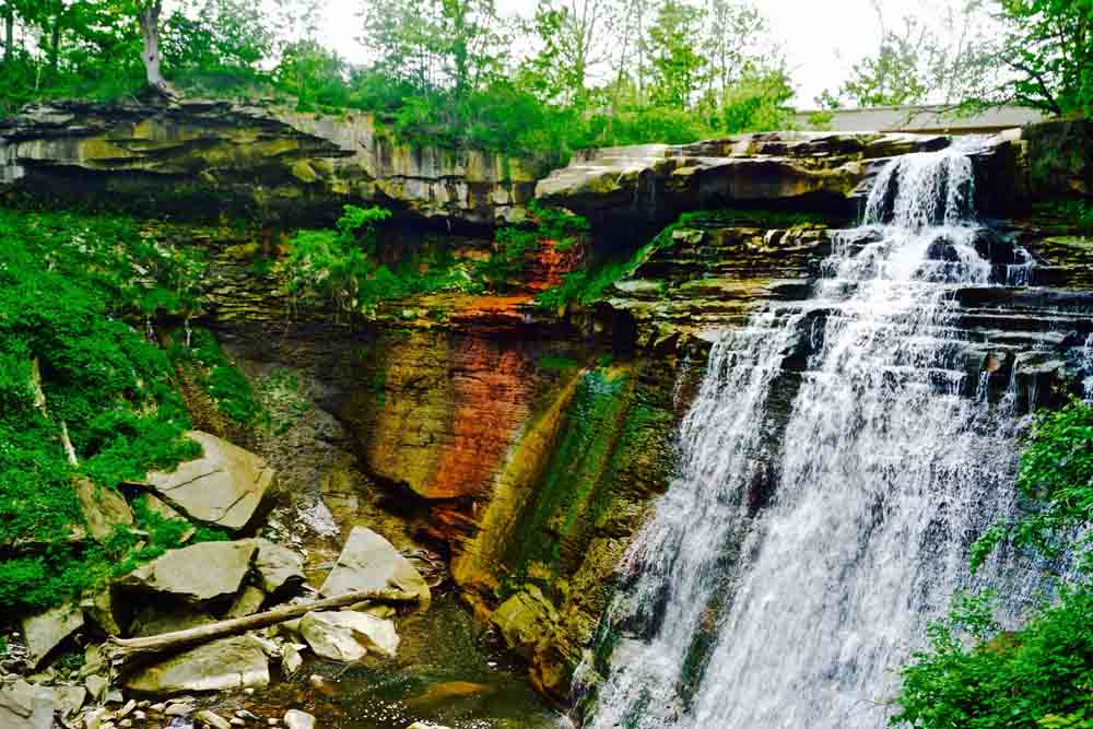Brandywine Falls, Cuyahoga National Park, Ohio, May 2015