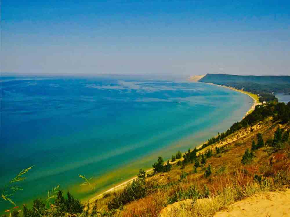 Pyramid Point, Sleeping Bear Dunes, Michigan, June 2010