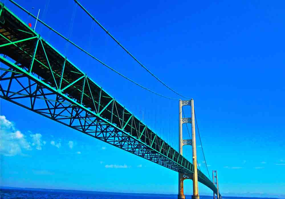Mackinac Bridge, Michigan, June 2012