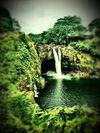 Rainbow Falls, Big Island, Hawaii, April 2016