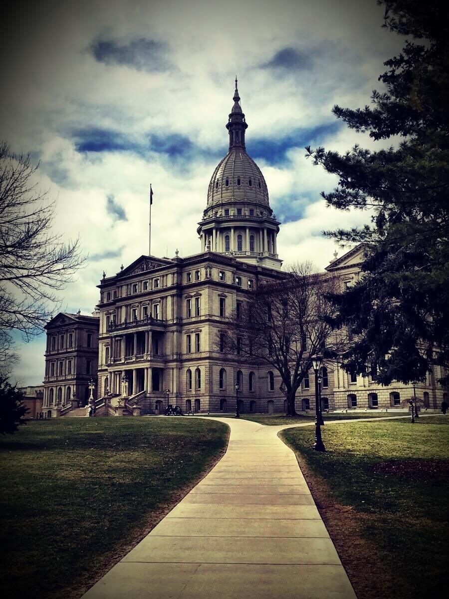 Capitol, Lansing, Michigan, March 2016