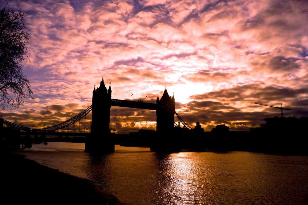 Tower Bridge, London, December 2014