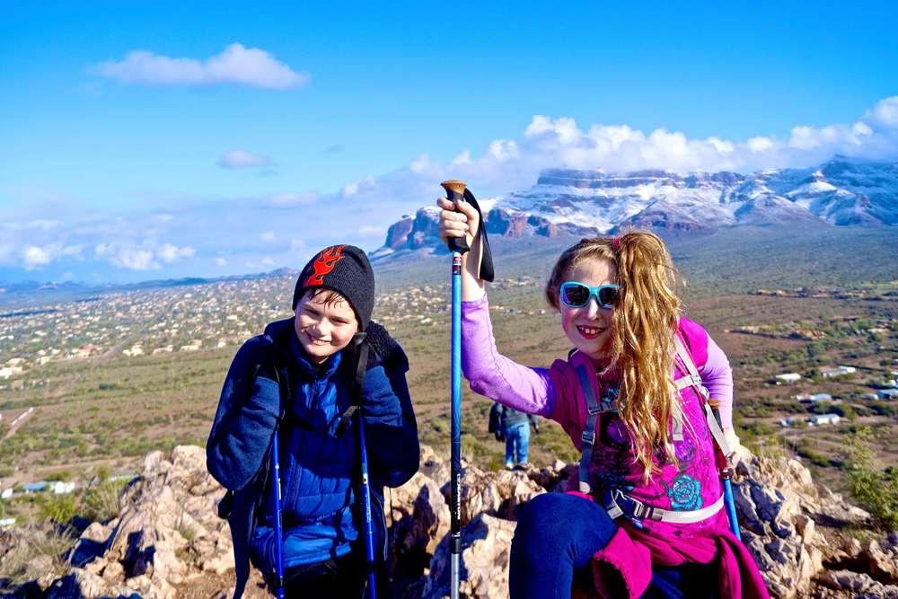 Silly Mountain, Arizona, January 2015