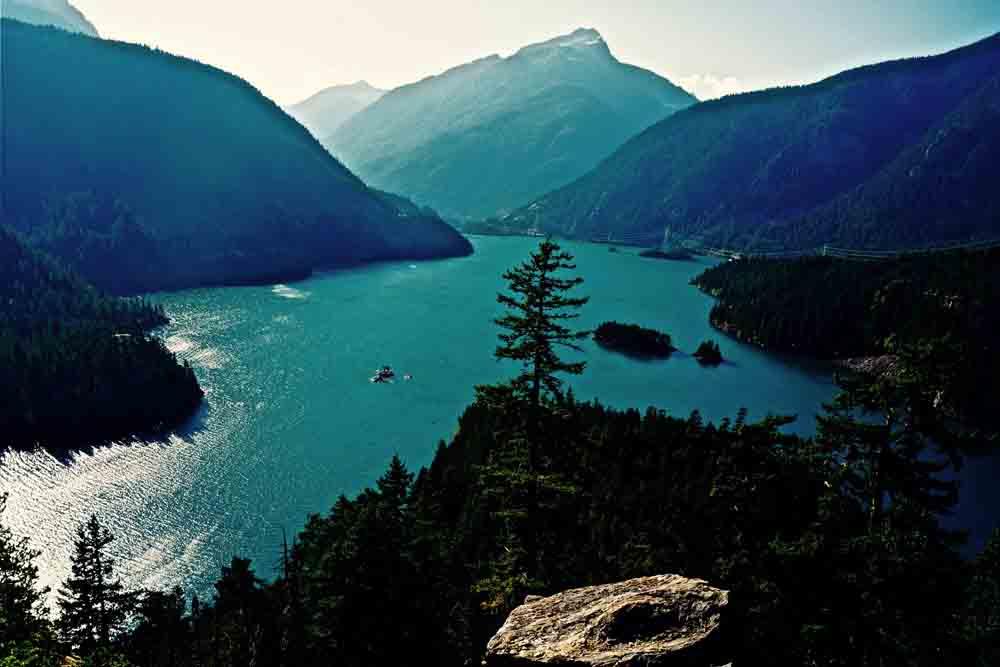Diablo Lake, North Cascades, Washington, September 2012