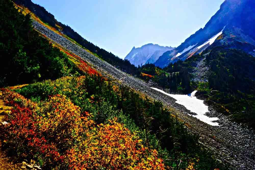 Cascade Pass, North Cascades, Washington, September 2012