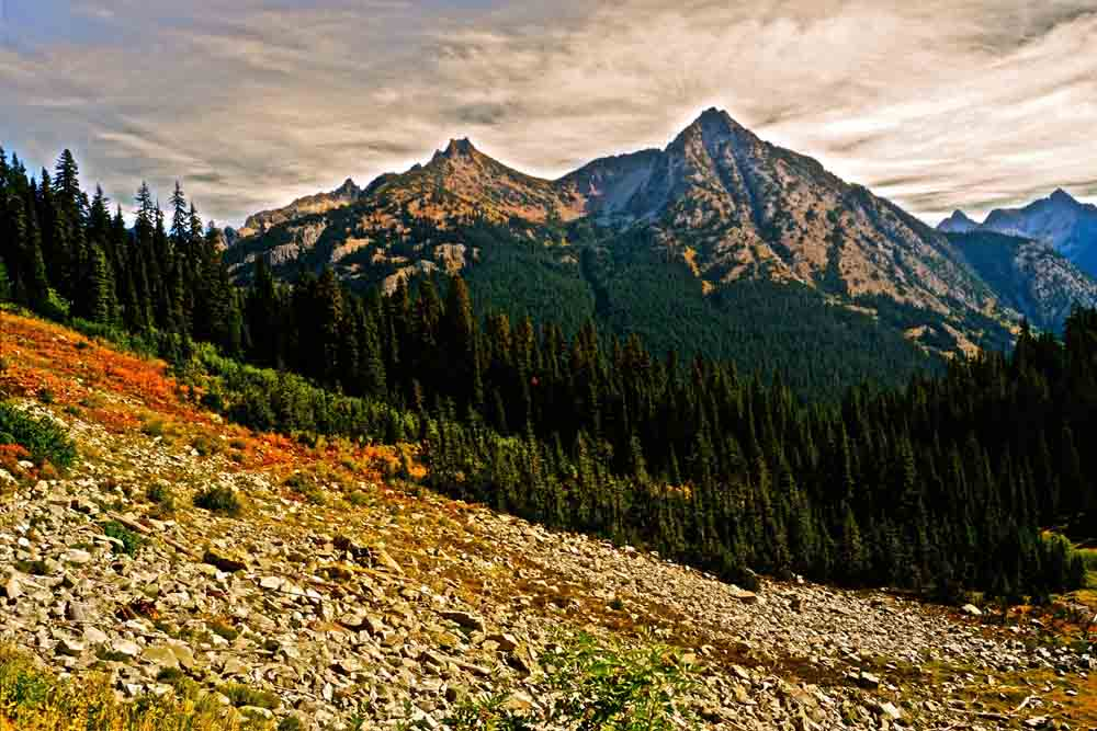 Maple Pass, North Cascades, Washington, September 2012