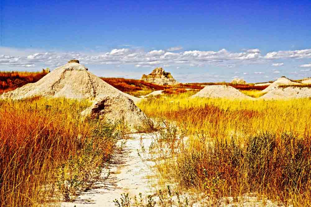 The Badlands, South Dakota, August 2014