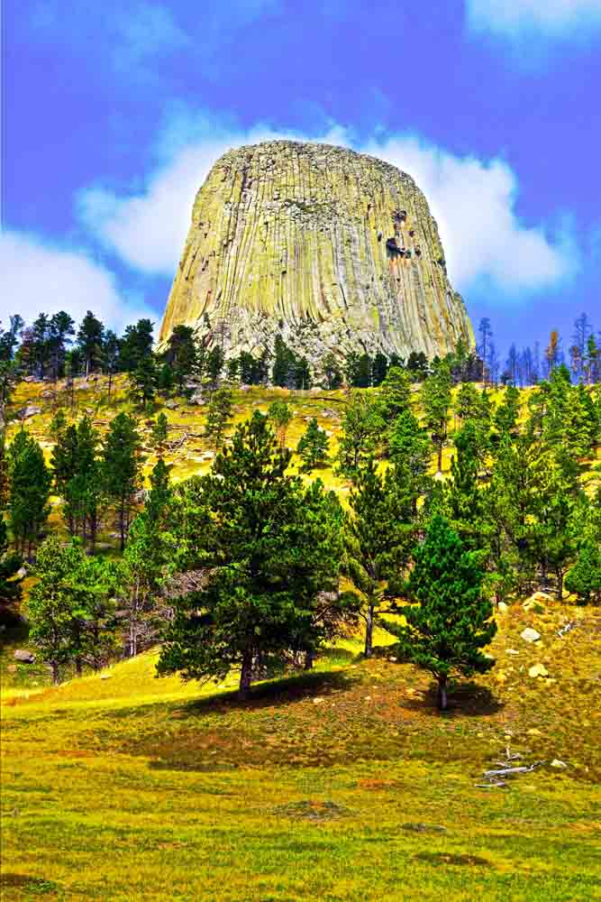 Devil's Tower, Wyoming, August 2014
