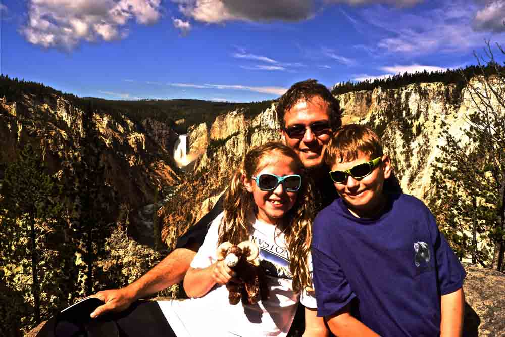 Yellowstone Canyon, Yellowstone National Park, Wyoming, August 2014