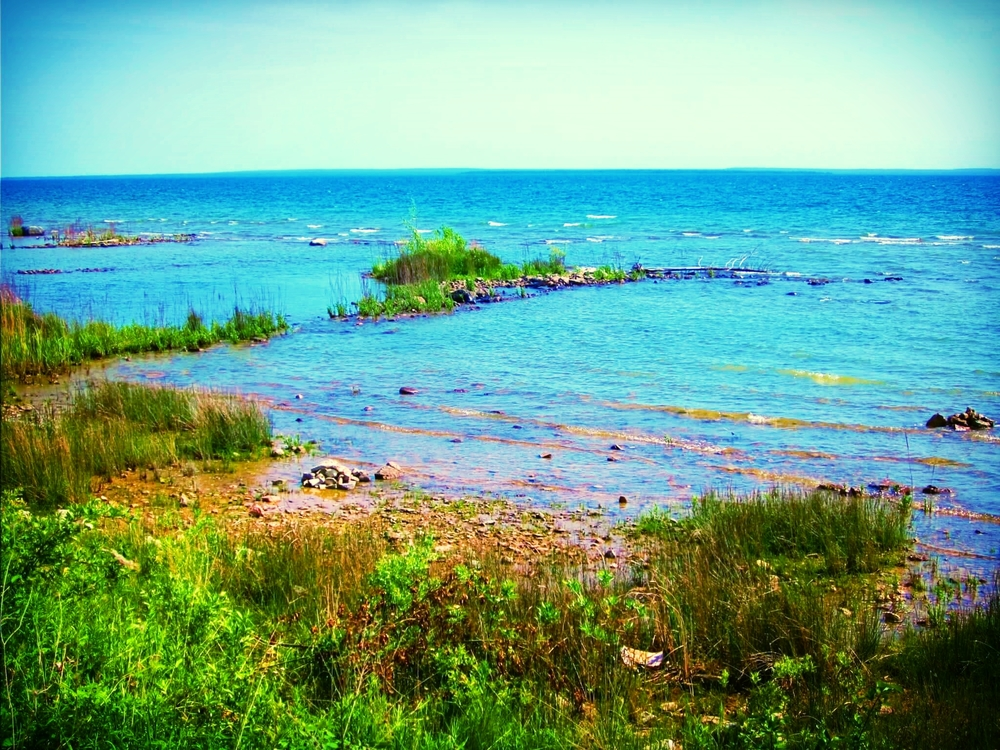 Lake Huron, St. Ignace, Michigan, June 2011