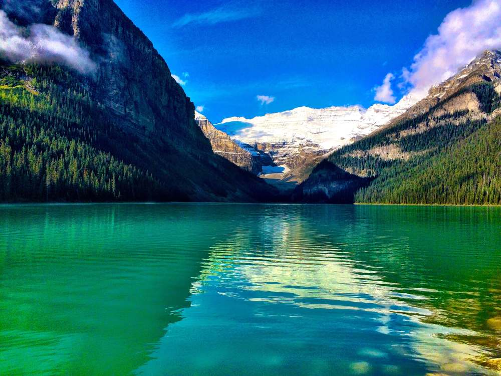 Lake Louise, Canada, September 2014
