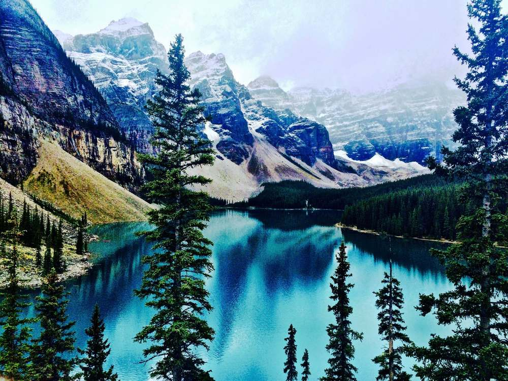 Moraine Lake, Canada, September 2015