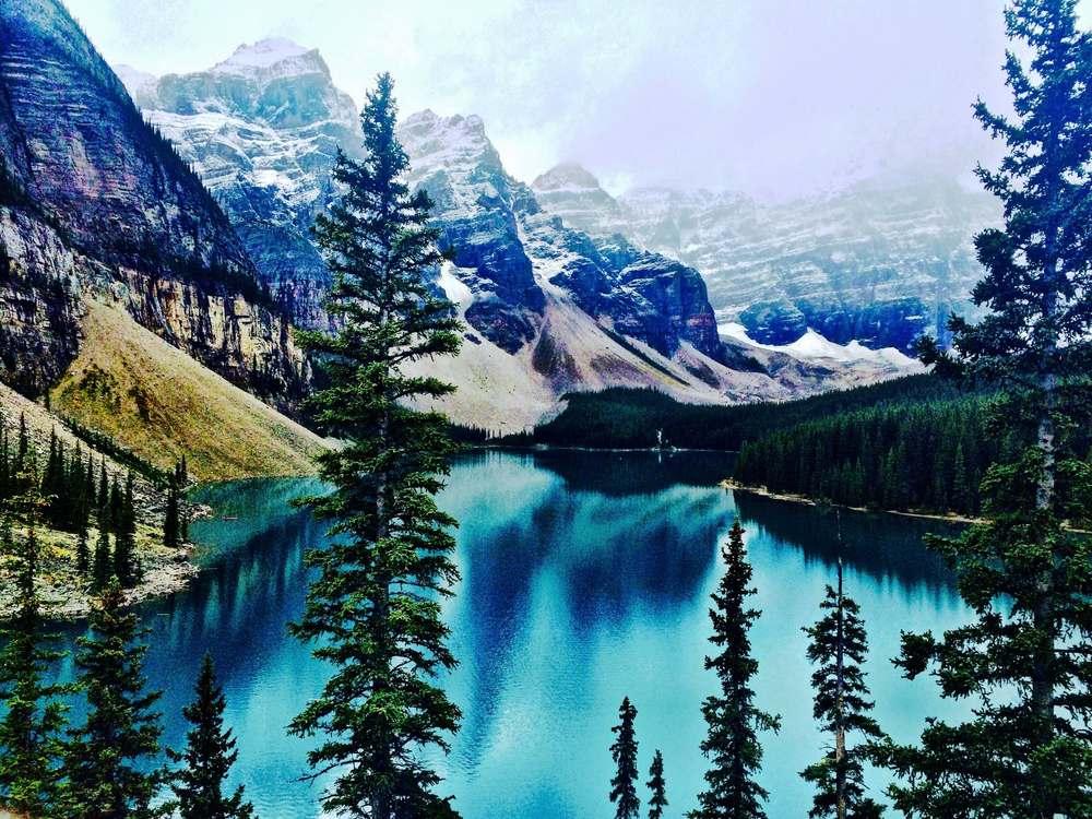 Moraine Lake, Canada, September 2015