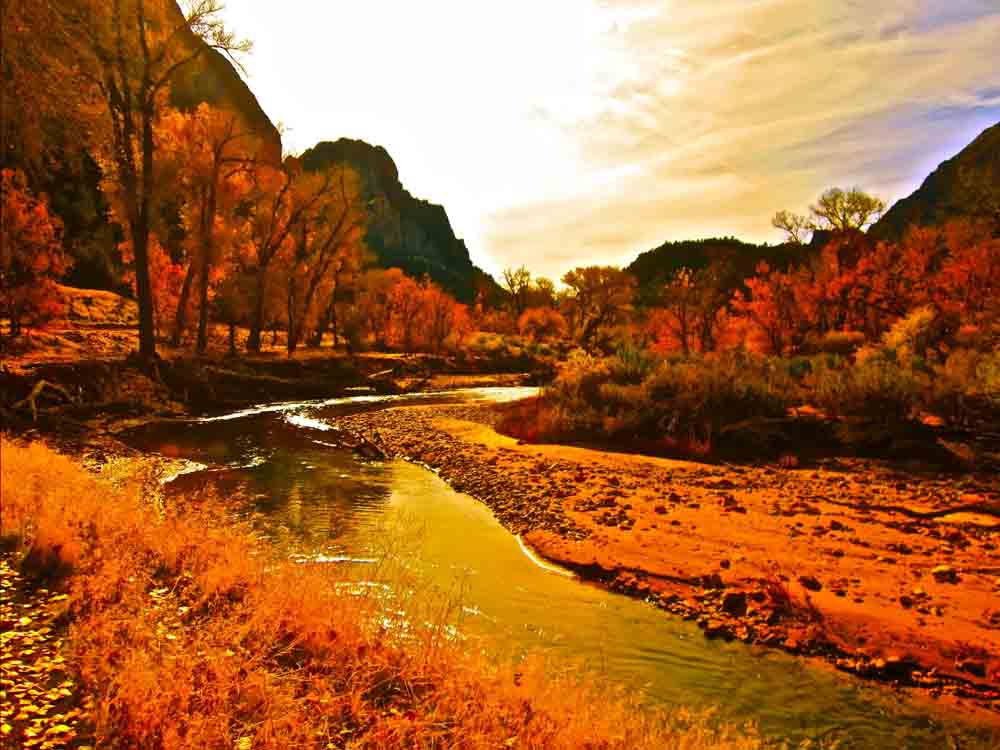 Zion National Park, Utah, November 2011
