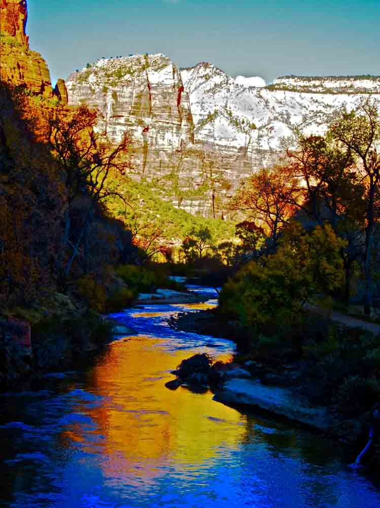 Zion National Park, Utah, November 2011
