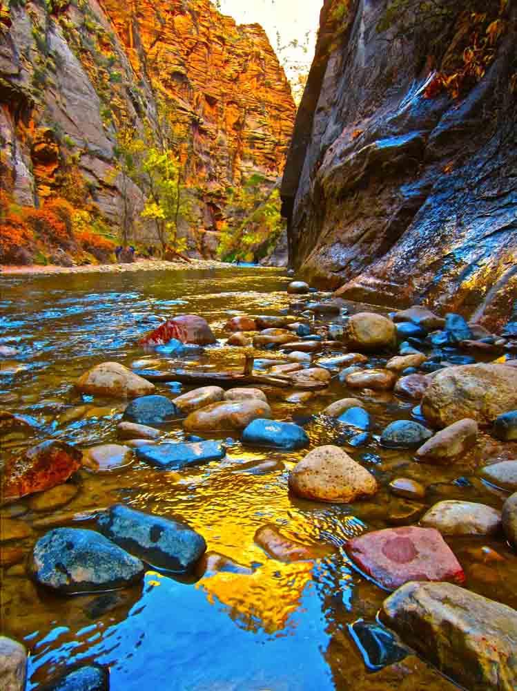 The Narrows, Zion National Park, Utah, November 2011