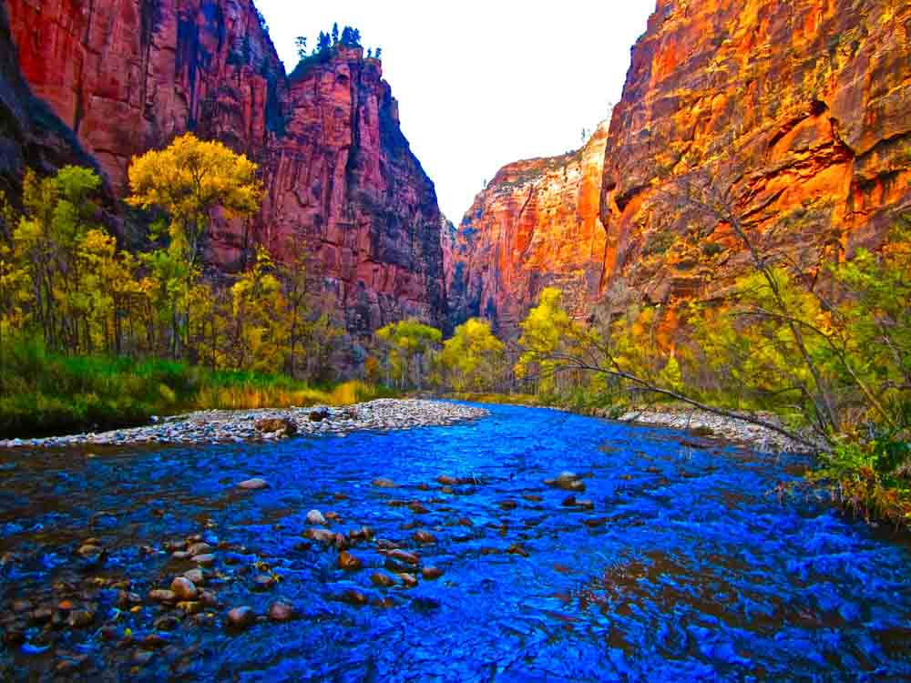 The Narrows, Zion National Park, Utah, November 2011