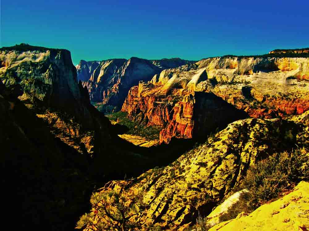 Observation Point, Zion National Park, Utah, November 2011