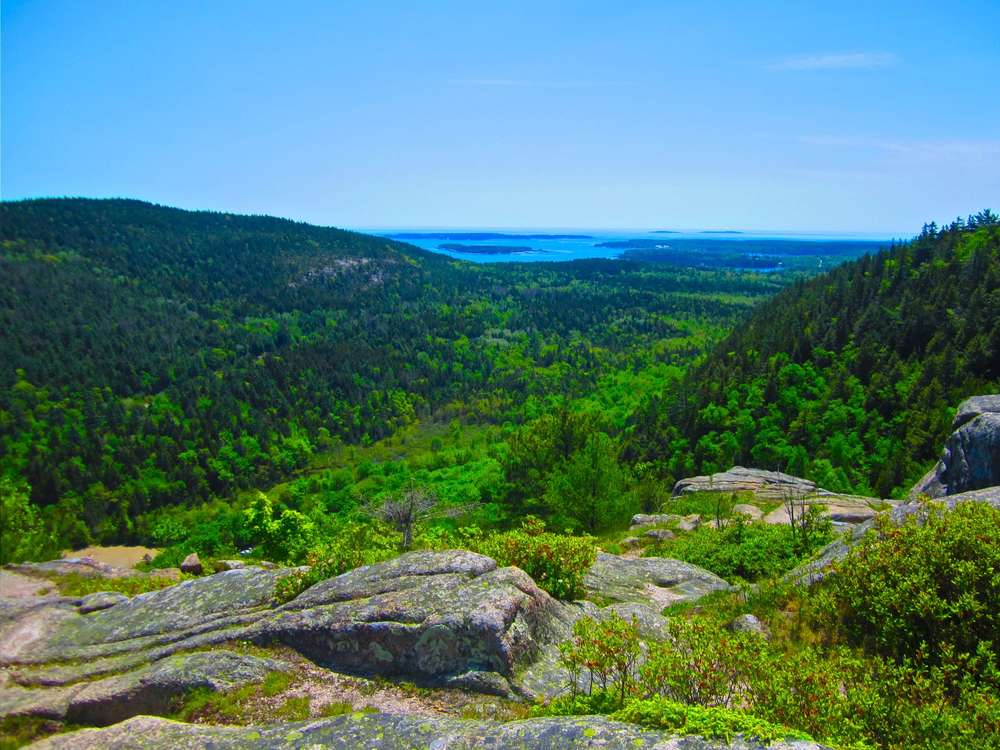 Acadia National Park, Maine, May 2012.