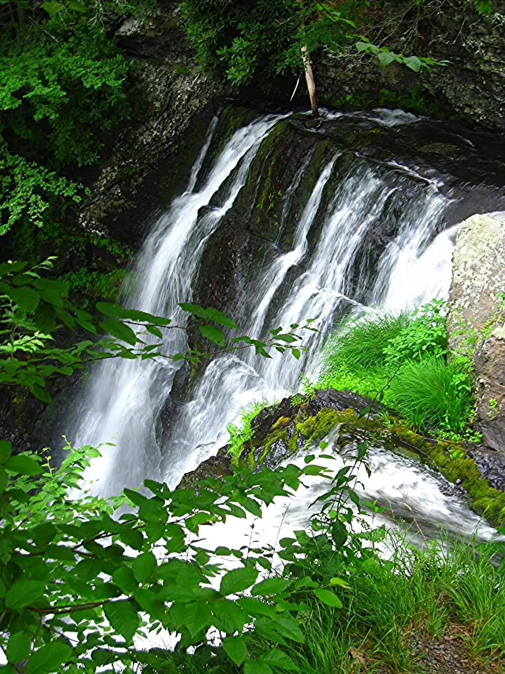 Delaware Water Gap, Appalachian Trail, Pennsylvania, June 2010.