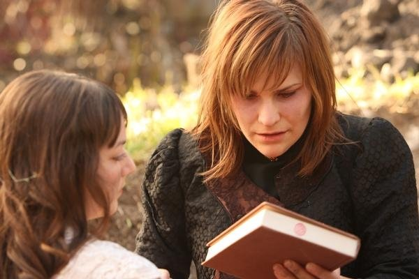 Still from behind the scenes on   Moira  , a short film on overcoming the trauma of sexual assault.