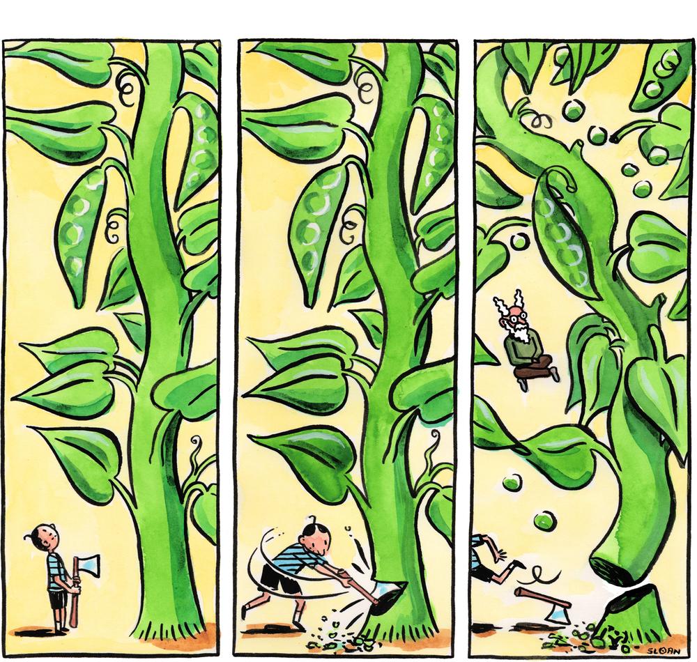 #39: The Beanstalk.