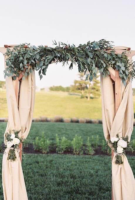 Guesses - $30 - $700    Average - $150    Actual cost - $300 not including arch    Fun fact - I posted this survey on a nationwide group of small business owners and the designer of this wedding actually took the survey! She charged $400 but it included the arch as well.